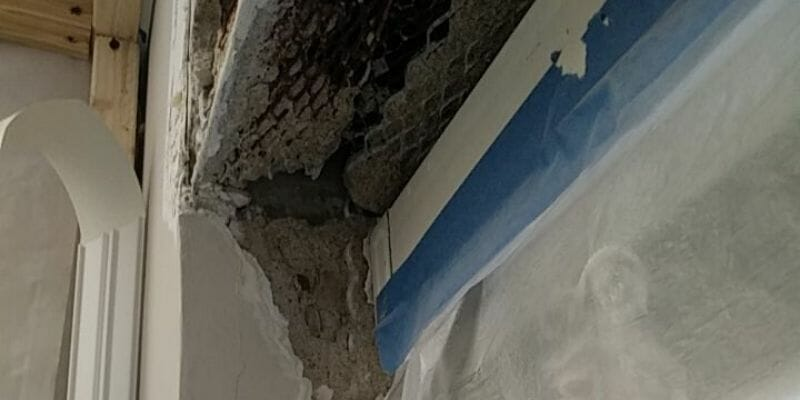 commercial building ceiling water damage