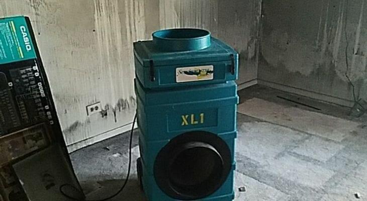 fire damage equipment