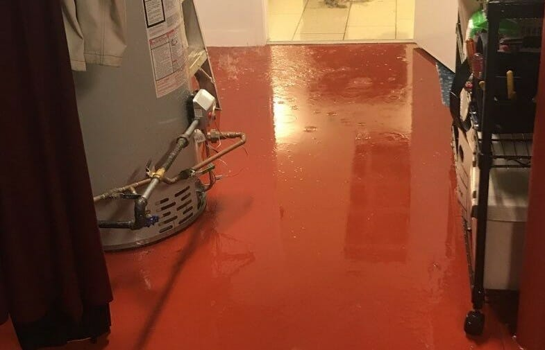 stagnant water in chicago home