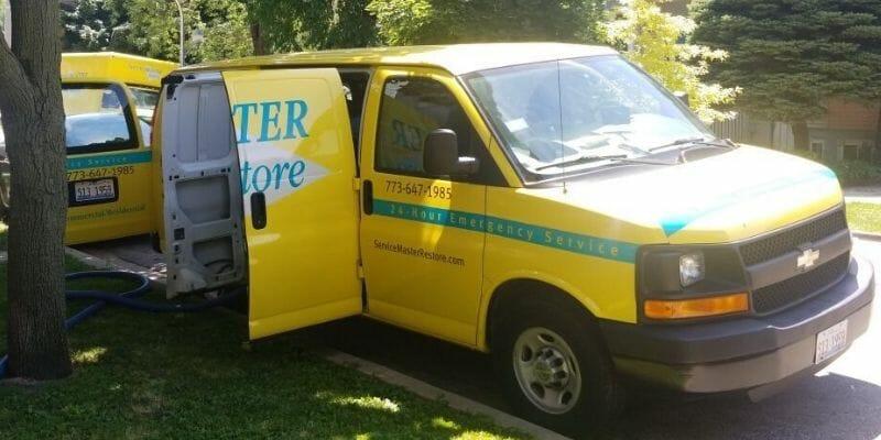 servicemaster restore van chicago il