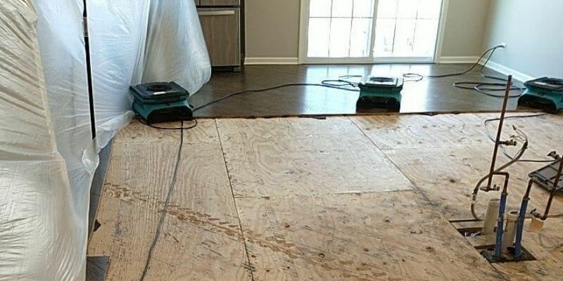 flood remediation subfloor