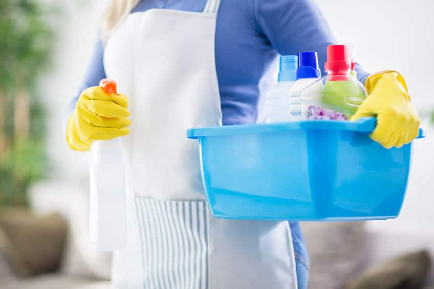 spring cleaning supplies for chicago home